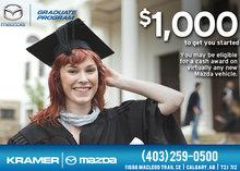 Mazda Graduate Program from Kramer Mazda