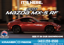 Come and See the 2017 Mazda MX-5 RF in Our Showroom! from Kramer Mazda