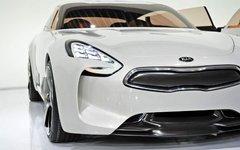 Première canadienne du concept GT de Kia au salon de l'auto du Canada 2012