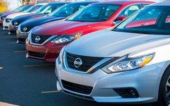 Gain de 7,8 % des ventes Nissan en avril