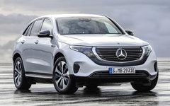 Le nouveau Mercedes-Benz EQC électrique présenté à Stockholm
