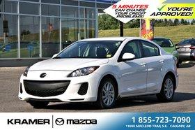 2012 Mazda Mazda3 GS SkyActiv w/Moonroof & Heated Seats