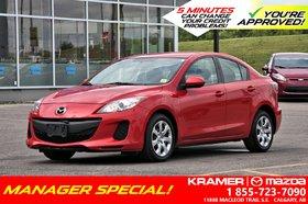 2013 Mazda Mazda3 GX Price Reduced!