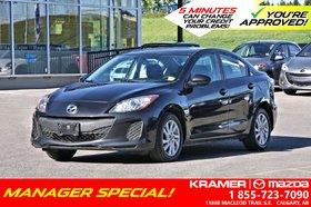 2013 Mazda Mazda3 GS w/6-Speed Manual & Bluetooth