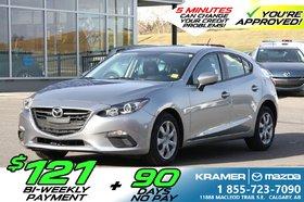 2015 Mazda Mazda3 GX Hatchback *$121B/W & 90 Days No Payments!!!*