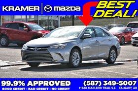 2017 Toyota Camry LE *Minor Hail HUGE Savings*