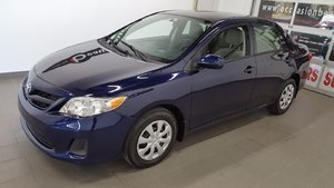 Toyota Corolla 2013 LE, A/C, régulateur, vitres électriques