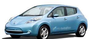 La Nissan Leaf voiture 100% électrique en autopartage