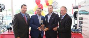 NIssan Granby reçoit le prix d'excellence pour une troisième année consécutive