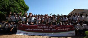 Le programme Kia Green Light ouvre une école au Mozambique