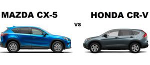 Comparaison entre le Mazda CX-5 et le Honda CR-V
