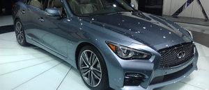Infiniti Q50 Sport et Hybride 2014 – Images du Salon de l'auto de New York 2013