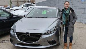 I Love my new Mazda. Zoom Zoom!
