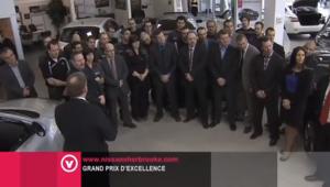 Nissan Sherbrooke: Mérite le Grand Prix d'excellence de Nissan Canada