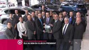 Mazda de Magog élu au sein du Club du Président de Mazda Canada!