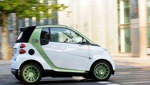 La smart fortwo électrique nommée voiture la plus écologique