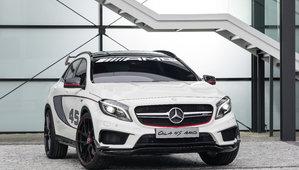 Nouveau concept GLA 45 AMG 2015