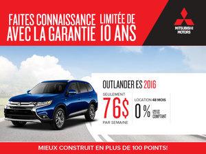 Mitsubishi Outlander ES 2016