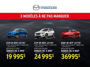 Liquidation incroyable chez Mazda de Sherbrooke