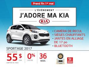 Le Kia Sportage 2017