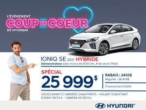 HYUNDAI Ioniq SE Hybride 2017 démo