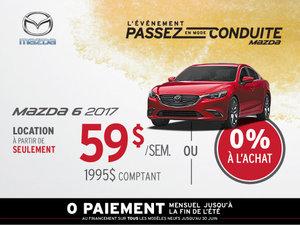 Louez la Mazda6 2017