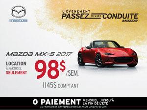 Louez la Mazda MX-5 2017