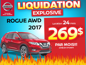 Méga liquidation Rogue 2017
