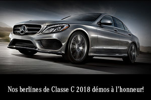 Berlines de Classe C 2018 démos