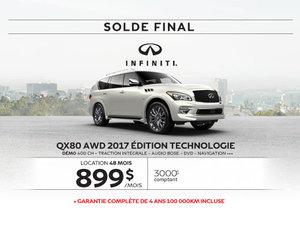QX80 dernier appel … pour le solde 2017!