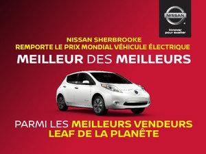 Nissan Sherbrooke remporte le prix mondial véhicule électrique