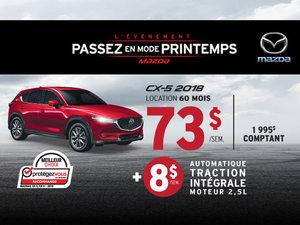 Le Mazda CX-5 2018