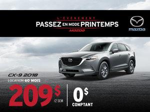 Le Mazda CX-9 2018