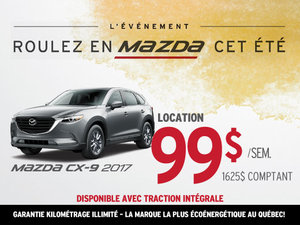 Louez le Mazda CX-9 2017