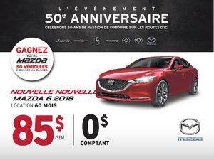 La toute nouvelle Mazda6 2018 vient d'arriver!