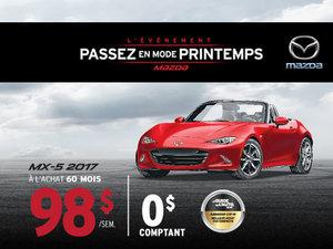 La Mazda MX-5 2017