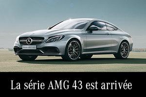 La série AMG 43 est arrivée