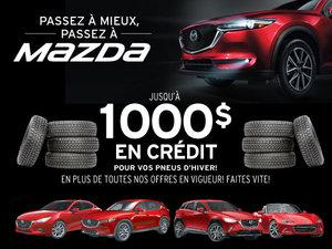 La vente mensuelle chez Mazda!