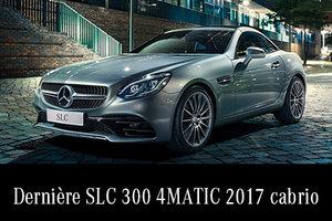 SLC 300 4MATIC 2017 démo en rabais