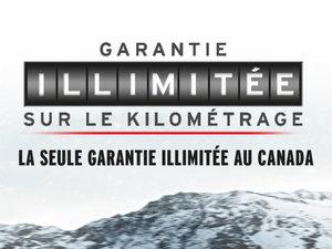 Garantie illimitée sur le kilométrage