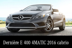 E400 4MATIC 2016 en rabais