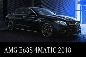 AMG E63S 4MATIC 2018