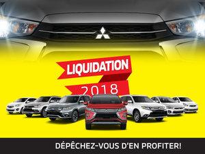 Modèles 2018 au plus bas prix de l'année chez Mitsubishi