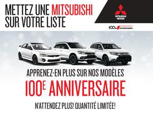 Nos modèles 100e anniversaire!