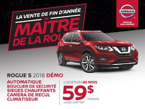Nissan Rogue 2018 démos