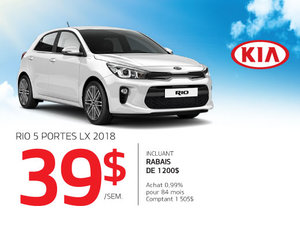 Rio5 portes 2018 à prix incroyable!