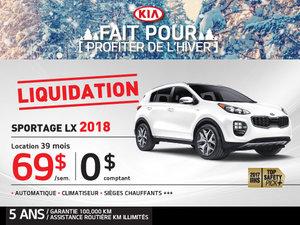 Liquidation Sportage LX 2018