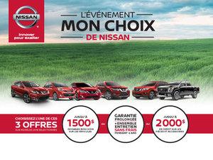 L'événement MON CHOIX de Nissan bat son plein!