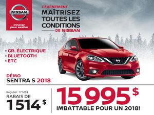 Nissan Sentra 2018 démos