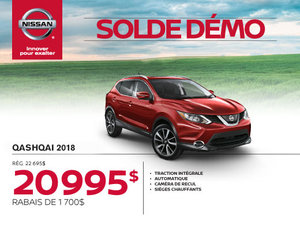 Nissan Qashqai 2018 démo